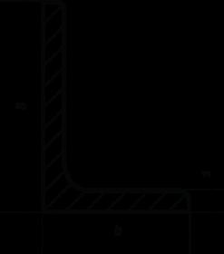 Уголок горячекатаный неравнополочный ГОСТ 8510-86 60x40x5